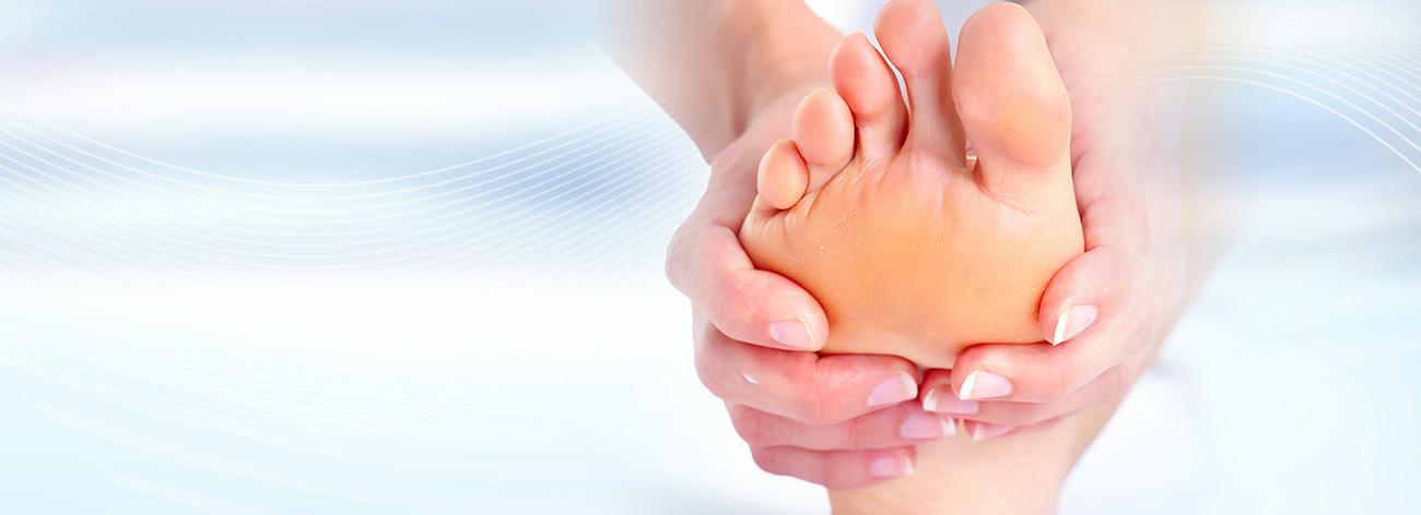 Traitements des problèmes de pieds courants